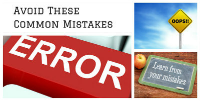 Common home buying mistakes